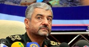 Comandante en jefe de los Guardianes de la Revolución iraníes, el general Mohamad Ali Yafarí. Foto: Eldiario.es.