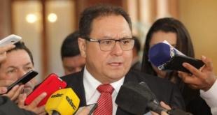 José Alberto Alderete, director general paraguayo de la Itaipú.