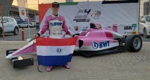 Joshua Duerksen, piloto paraguayo que se prepara para la competencia motor en Dubái. (Foto @Joshua Duerksen1).