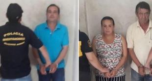 En la gráfica aparece el casero  Juan Bautista Rotela Domínguez, además de Ramona Perla, madre biológica de la víctima, y Julián Agripino, padrastro.