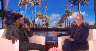Kevin Hart concedió a Ellen DeGeneres la primera entrevista luego de su renuncia a los Óscar.