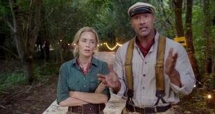 """Emily Blunt y Dwayne """"La Roca"""" Johnson protagonizan la película """"Jungle Cruise""""."""