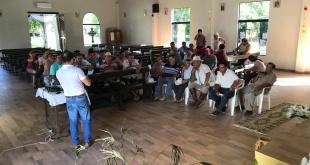 La actividad estuvo dirigida a los miembros de los comités Carrizales del Paraná y Panchito López.