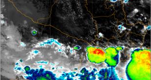 Núcleos de tormentas siguen desarrollándose en el área de cobertura con tendencia a persistir en el trascurso de la tarde de hoy viernes 04.