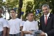 Santiago Abdo, hijo del presidente de la República, Mario Abdo Benítez,  está en el Centro de Instrucción Militar de Estudiantes para la Formación de Oficiales de Reserva (Cimefor), con 17 años de edad, y cumplirá la mayoría de edad recién el 15 de marzo de este año.