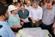 El jefe de Estado estuvo acompañado por el ministro de Salud Pública, Julio Mazzoleni; el director de Itaipú, José Alberto Alderete. Foto: Presidencia.