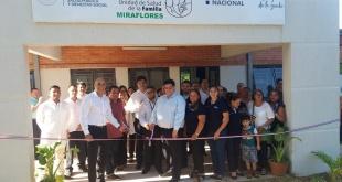 Con presencia del ministro de Salud Pública, se llevó adelante la inauguración de la USF Miraflores, ubicado en el distrito de San Lorenzo.
