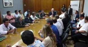 La decisión fue comunicada en la tarde de este lunes, en una reunión mantenida con miembros de la Federación de Camioneros del Paraguay.