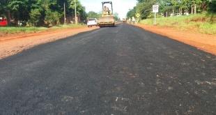 La intervención del tramo Guayaibi- Calle Bertoni, está a cargo de la empresa EDB Construcciones. Foto: MOPC.
