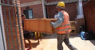 Hasta la fecha 51 familias ya se encuentran habitando sus respectivos hogares asignados. Foto: ESSAP.