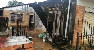 El hallazgo se produjo en el barrio San Miguel de San Lorenzo. Foto: 970 AM.