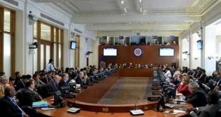 La votación de los miembros de la OEA tuvo lugar en Washington, poco después de que Maduro jurara un segundo mandato de seis años.