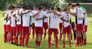 La Selección Paraguaya de Fútbol Sub 20  cerró una semana más de entrenamiento en el marco de sus preparativos para el sudamericano de la categoría a disputarse en Chile. (Foto @Albirroja).