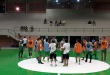 Plantel de Paranaense sigue con los preparativos en el Polideportivo Municipal de Ciudad del Este, de cara al Nacional de Fútbol de Salón.