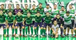 Plantel de Paranaense que medirá en amistoso a Brasil.  Foto: Paranaense Futsal.