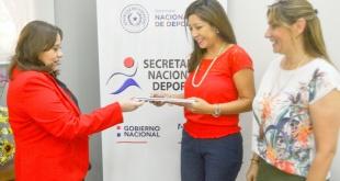 Ni bien la entidad deportiva matriz del patinaje guaraní recibió la carta de designación, sus autoridades se apersonaron a la SND.