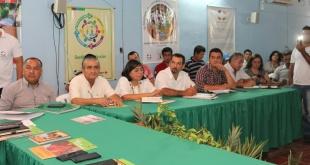 Ayer, durante el segundo encuentro de Articulación Nacional Campesina, Indígena y Popular.