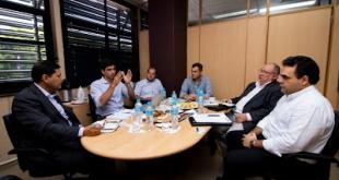 El Viceministro de Comercio, Pedro Mancuello se reunió con representantes de la Cámara de Comercio Paraguayo-Chilena (CAPACHI).