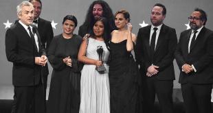 """""""Roma"""" se llevó varios de los premios más importantes de la noche."""
