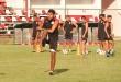 Los jugadores de San Lorenzo durante un entrenamiento. Foto: @SanLorenzo1930.