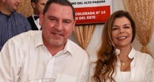 Javier Zacarías y Sandra McLeod.