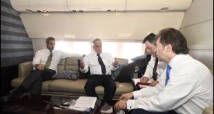 Reunión bilateral entre el jefe de Estado de Paraguay, Mario Abdo Benítez y el presidente chileno, Sebastián Piñera. Foto: @presidencia_cl.