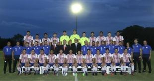 Imagen Oficial de la Selección Juvenil que nos representará en el Sudamericano Sub 20 Chile 2019. (Foto Prensa @Albirroja).