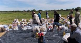 El operativo de asistencia alimentaria a la comunidad indígena inició el miércoles 9 de enero.