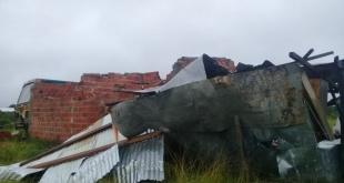 La Municipalidad de Pilar reportó que la tormenta se desató entre las 2:00 y las 3:00 de la madrugada. Foto: SEN.