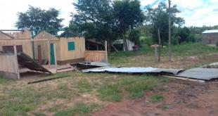 Unas 62 viviendas quedaron afectadas. Foto; SEN.