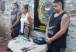 Dos hombres integrantes de una barra brava y una mujer se aliaron para poder movilizar la droga a través de entregas coordinadas en el sitio. Foto: Senad.