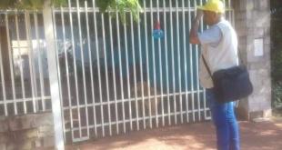 Un personal de Senepa ser recibida por los propietarios de la vivienda.