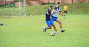 El plantel del Sportivo Luqueño continúa con los trabajos de preparación en el Alto Paraná. (Foto Prensa Luque).