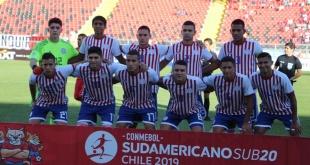El autor del gol albirrojo fue el jugador del Olimpia, Braian Ojeda. Foto: @Albirroja.