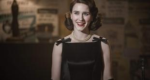 """Rachel Brosnahan se llevó el premio de mejor actriz en serie d comedia por """"La maravillosa señora Maisel""""."""