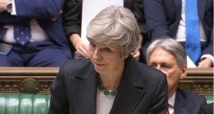 La primer ministra británica Theresa May.