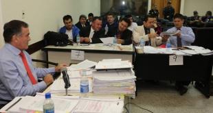 En la mañana de este lunes comenzaron los alegatos finales en el marco del juicio oral y público contra Tomás Rojas. Foto: Ministerio Público-Fiscalia.
