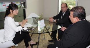 Los representantes de la Dirección General de Migraciones y de la Embajada de la República de China – Taiwán en Paraguay, se reunieron en la sede diplomática.