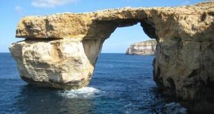 La Ventana Azul maltesa fue destruida por el oleaje durante una tormenta.