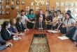 La conferencia se llevó adelante en la sede del Ministerio de Hacienda.
