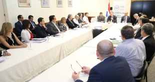 El encuentro fue presidido por el titular de la cartera, Benigno López, y contó con la participación de los demás miembros del equipo técnico.