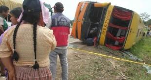 Al menos 24 personas fallecieron y 15 resultaron heridas, varias de ellas de gravedad, en un choque la madrugada de este lunes.