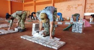El Gobierno Nacional destacó ayer sábado los avances logrados en las acciones de lucha contra el narcotráfico.
