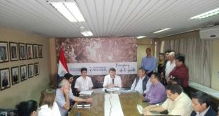 El ministro de Agricultura y Ganadería (MAG), Denis Lichi, ofreció hoy una conferencia de prensa.