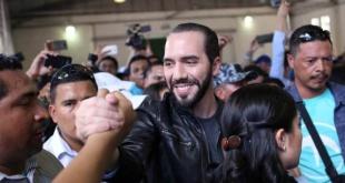 El publicista de 37 años y exalcalde de la capital salvadoreña, Nayib Bukele. Foto Reuters