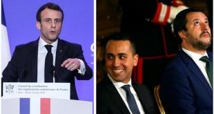 .- Francia llamó a consultas a su embajador en Italia tras la reunión entre el vicepresidente del Gobierno italiano y líder del Movimiento 5 Estrellas (M5S), Luigi Di Maio.