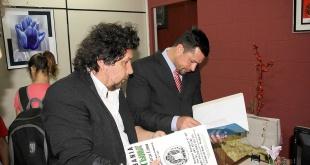 """El concejal Celso Miranda, """"Kelembú"""", y el diputado desaforado y preso, Ulises Quintana."""