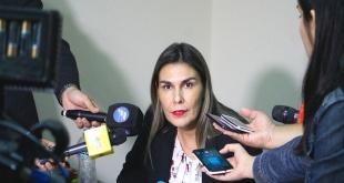 Lorena Ledesma, fiscal.