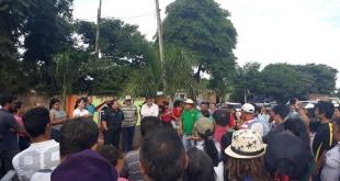 Los pobladores ya se habían manifestado la semana pasada en Minga Guazú.