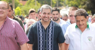 El mandatario recorrió obras encaradas por la Itaipú y por el MOPC.